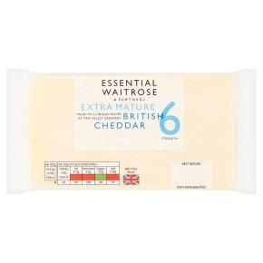 Essential Extra Mature British Cheddar Strength 6