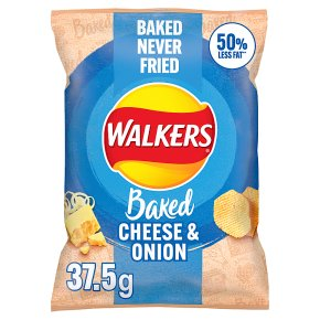Walkers Oven Baked Cheese & Onion
