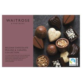 Waitrose Belgian Chocolate Praline & Caramel Collection