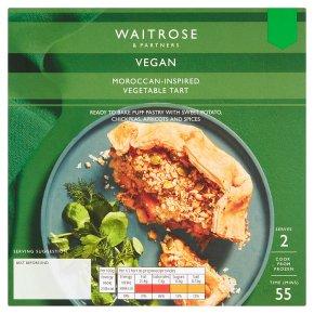 Waitrose Vegan Moroccan-Inspired Vegetable Tart