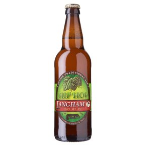 Langham Brewery hip hop premium blonde beer