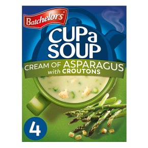 Batchelors 4 Cup a Soup Cream of Asparagus