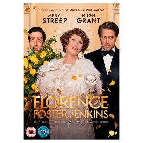 DVD Florence Foster Jenkins