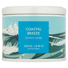 John Lewis Candle Tin Coastal Breeze