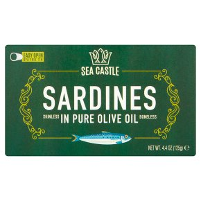 Sea Castle Sardines in Pure Olive Oil