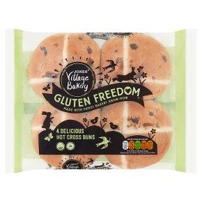VillageBakery Gluten Free Hot Cross Buns