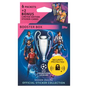 UCL 21/22 Sticker Collection - Boos