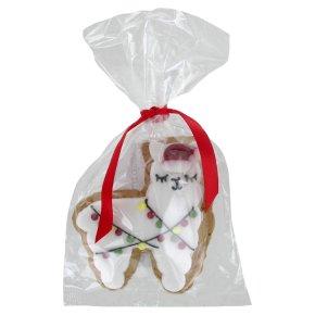 Iced Gingerbread Christmas Llama