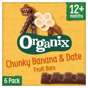 Organix Banana & Date Fruit Snack Bar