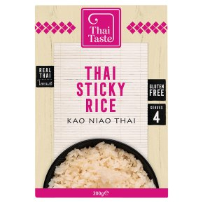 Thai Taste Thai sticky Rice Kao Niao Thai