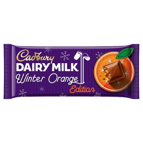 Cadburys Dairy Milk Winter Orange
