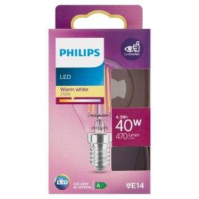 Philips LED White Ball 4.3w E14