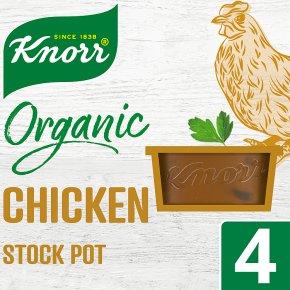 Knorr Organic 4x Chicken Stock Pot