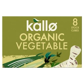 Kallo 8 vegetable stock cubes