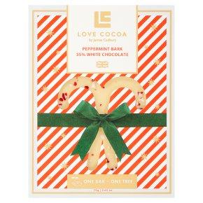 Love Cocoa Peppermint Bark 35% White Chocolate