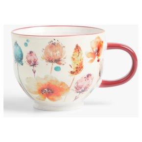 John Lewis Autumn 2 Floral Mug