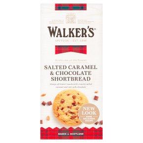 Walker's Salted Caramel & Chocolate Shortbread