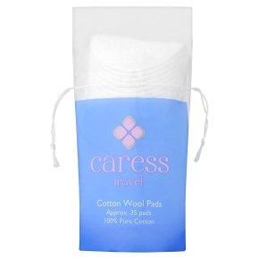 Caress Travel Cotton Wool Pads