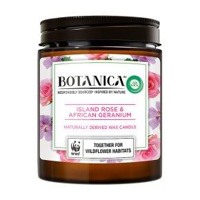 Botanica Candle Rose & Geranium