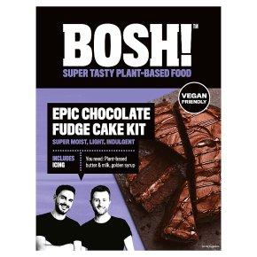 BOSH! Epic Chocolate Fudge Cake Kit