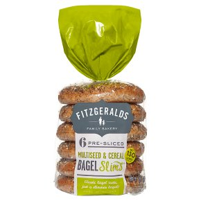 Fitzgeralds Multiseed & Cereal Bagel Slims