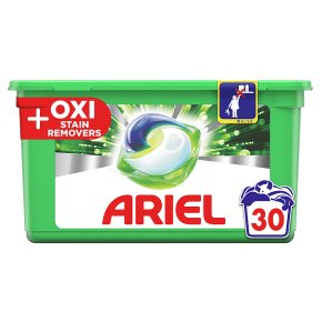 Ariel AiO Oxi Pods 30 washes