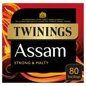 Twinings Assam Tea 80 Tea Bags