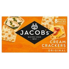 Jacob's cream crackers original snack packs