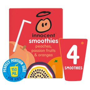 Innocent Smoothies Just for Kids Peach Passion Fruit Orange