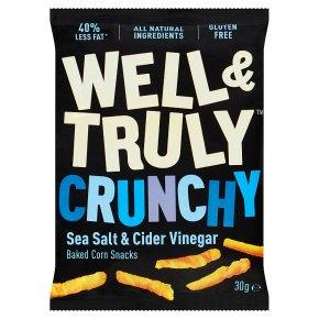 Well & Truly Crunchy Sea Salt & Cider Vinegar