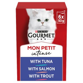Gourmet Mon Petit with Tuna, Salmon & Trout