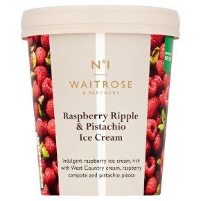 No.1 Raspberry Ripple & Pistachio Ice Cream