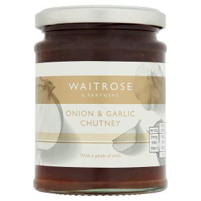 Waitrose onion garlic chutney