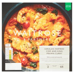 Waitrose Keralan Cod & King Prawn Curry