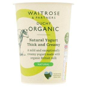 Waitrose Duchy Thick & Creamy Natural Yogurt