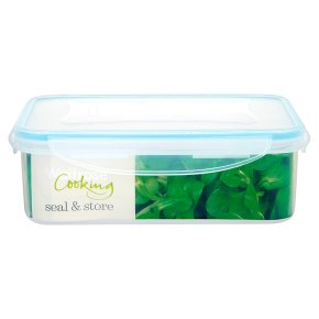 Waitrose Cooking Rectangle Container 1.5 litre