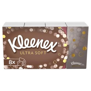 Kleenex Ultra Soft Pocket Tissues