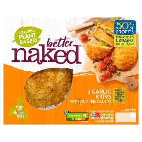 Naked Without The Cluck No Chicken Kievs