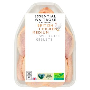 Essential British Medium Whole Chicken