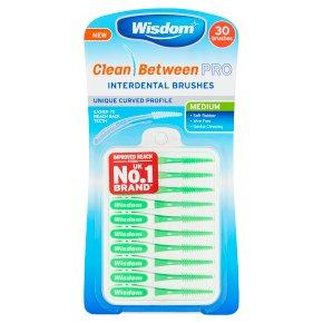 Wisdom Clean Between Pro Medium Brushes