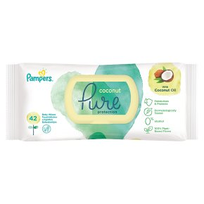 Pampers Pure Coconut Wipes