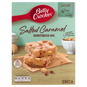 Betty Crocker Salted Caramel Shortbread Mix