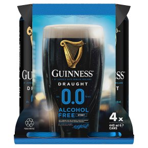 Guinness Draught 0.0 Alcohol Free Stout