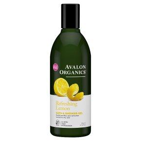 Avalon Organics Lemon Shower Gel