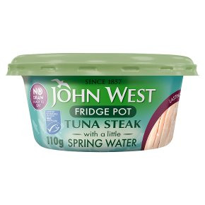 John West Fridge Pot Tuna Steak in Spring Water MSC