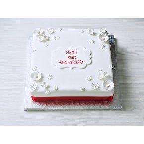 Red Celebration Cake