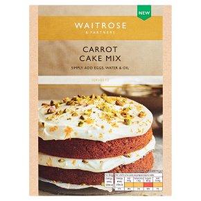 Waitrose Carrot Cake Mix