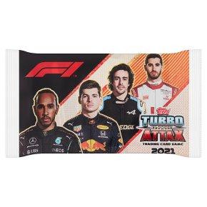 F1 Turbo Attax 2021 Card Packet