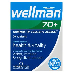 Wellman 70+ Tablets