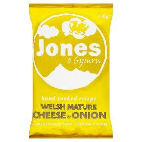 Jones Cheese & Onion Crisps